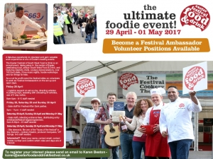 Food Festival Volunteers 2017